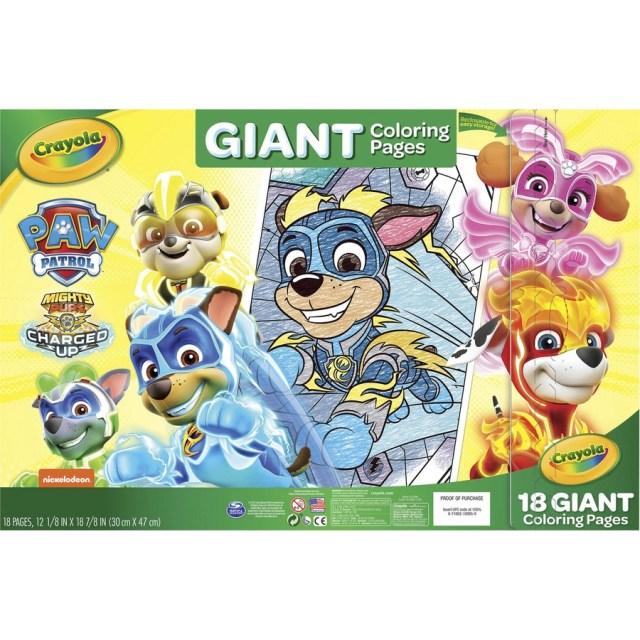 "Crayola Nickelodeons Paw Patrol Giant Pages - Printed - 22.22"" x"