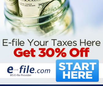 Signup to eFile Your Taxes Here Get 30C% Off