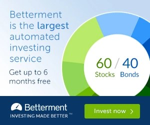 Betterment Investing Promotion