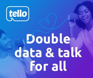 tello double talk & Data