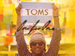 I LOVE Tom's One for One donation policy