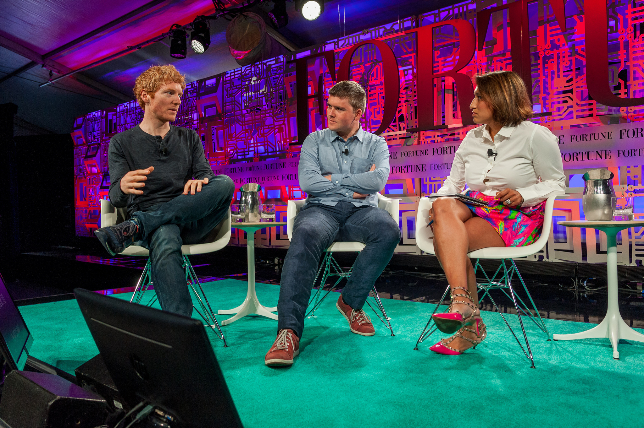 Stripe Founders Interview At Fortune S Brainstorm Tech