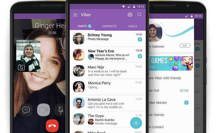 viber to launch 'une communication