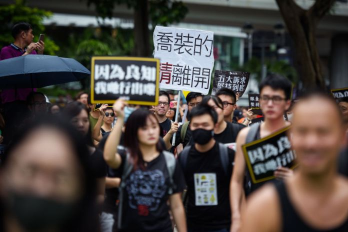 'It's Life or Death:' Hong Kong Protests Risk Its Special Trade Relationship With the U.S.