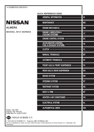 Original JDM manuals VE\VET NISSAN  SR20 Forum