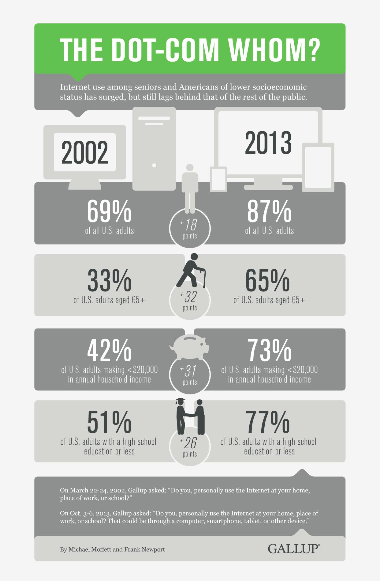 Internet Usage Infographic