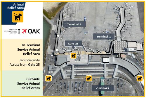 OAK SARA Map