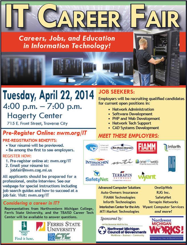 Traverse City IT Fair - 04-22