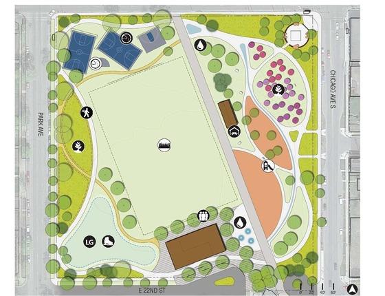 Peavey Park master plan