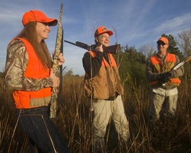 Hunting with family