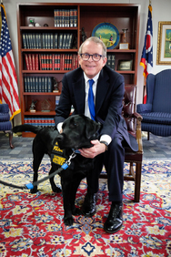 Mike DeWine and Reptar