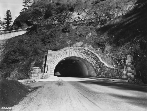Toothrock Tunnel around 1937