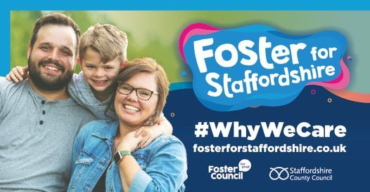 Foster for Staffordshire poster