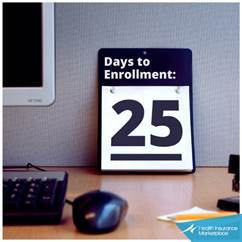 25 Days to Open Enrollment