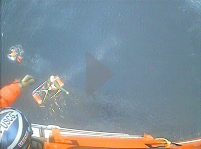 Screenshot for hoist camera footage