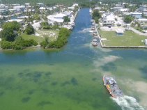B-Roll: Sector Miami area 45-foot response boat crews arrive at Station Islamorada