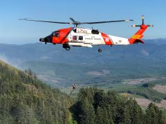 Sector Columbia River medevacs hiker in Saddle Mountain, Ore.