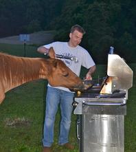 Joe and the horse
