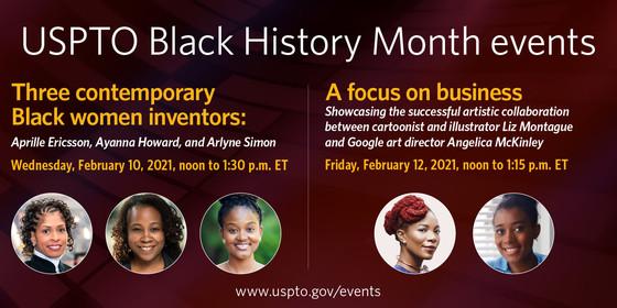 USPTO Black History Month events