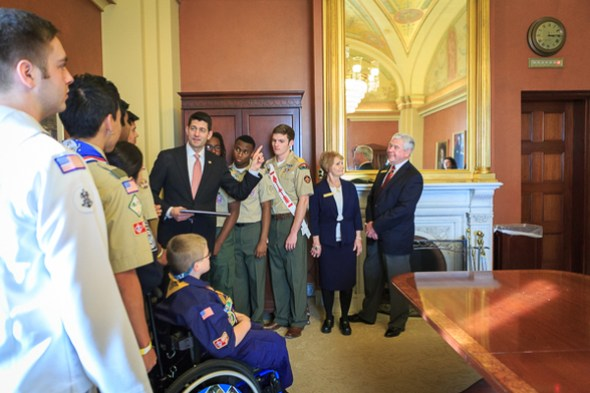 Taking time with the Boy Scouts of America