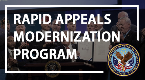 Rapid Appeals Modernization Program