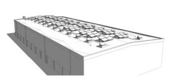 Fishermens Terminal net shed solar panels