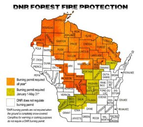DNR Protection Areas maps