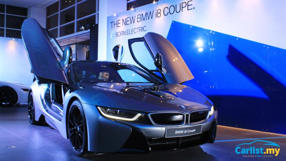 New Bmw I12 I8 Coupe Launched In Malaysia From Rm1 31 Million