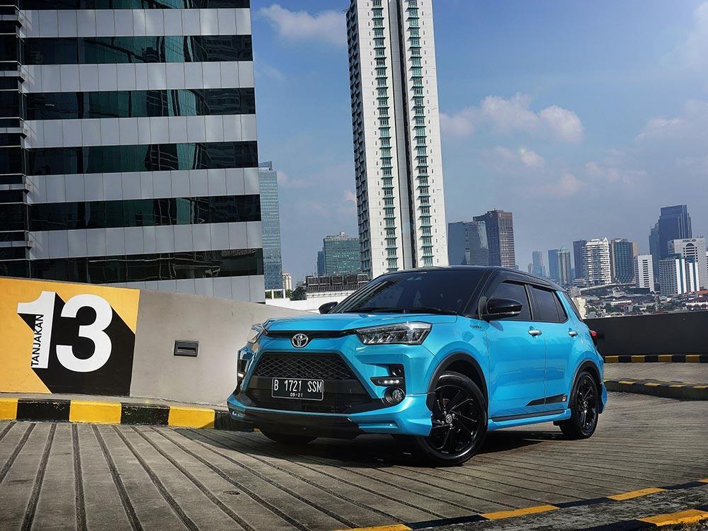 Inden Toyota Raize Lebih Singkat – Berita Otomotif