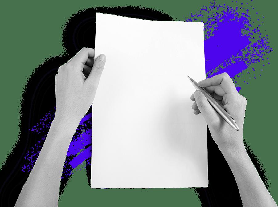 Writing Letter Illustration