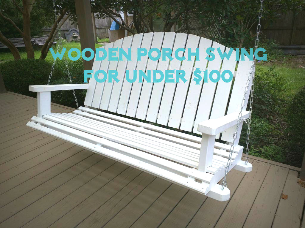diy wooden porch swing 28 steps with