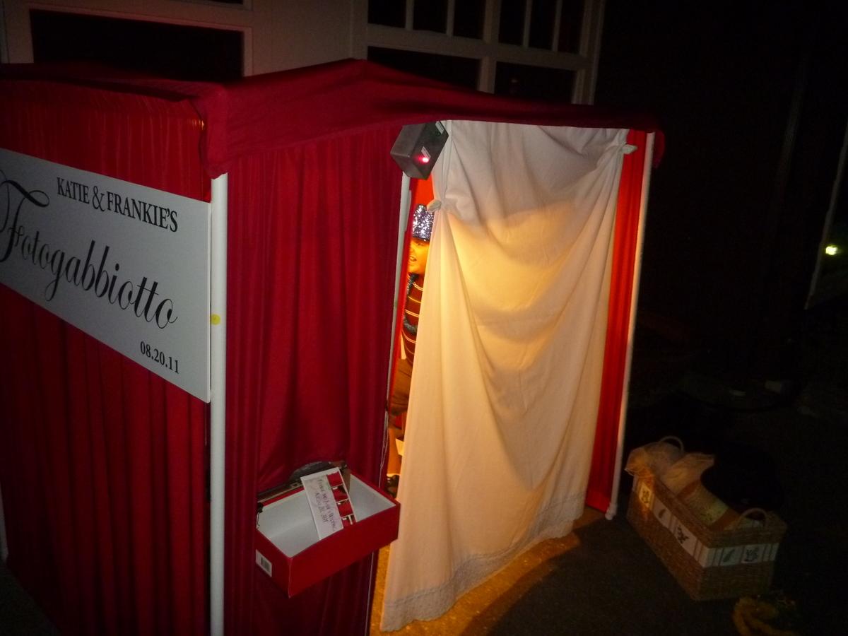 diy photobooth with lighting control