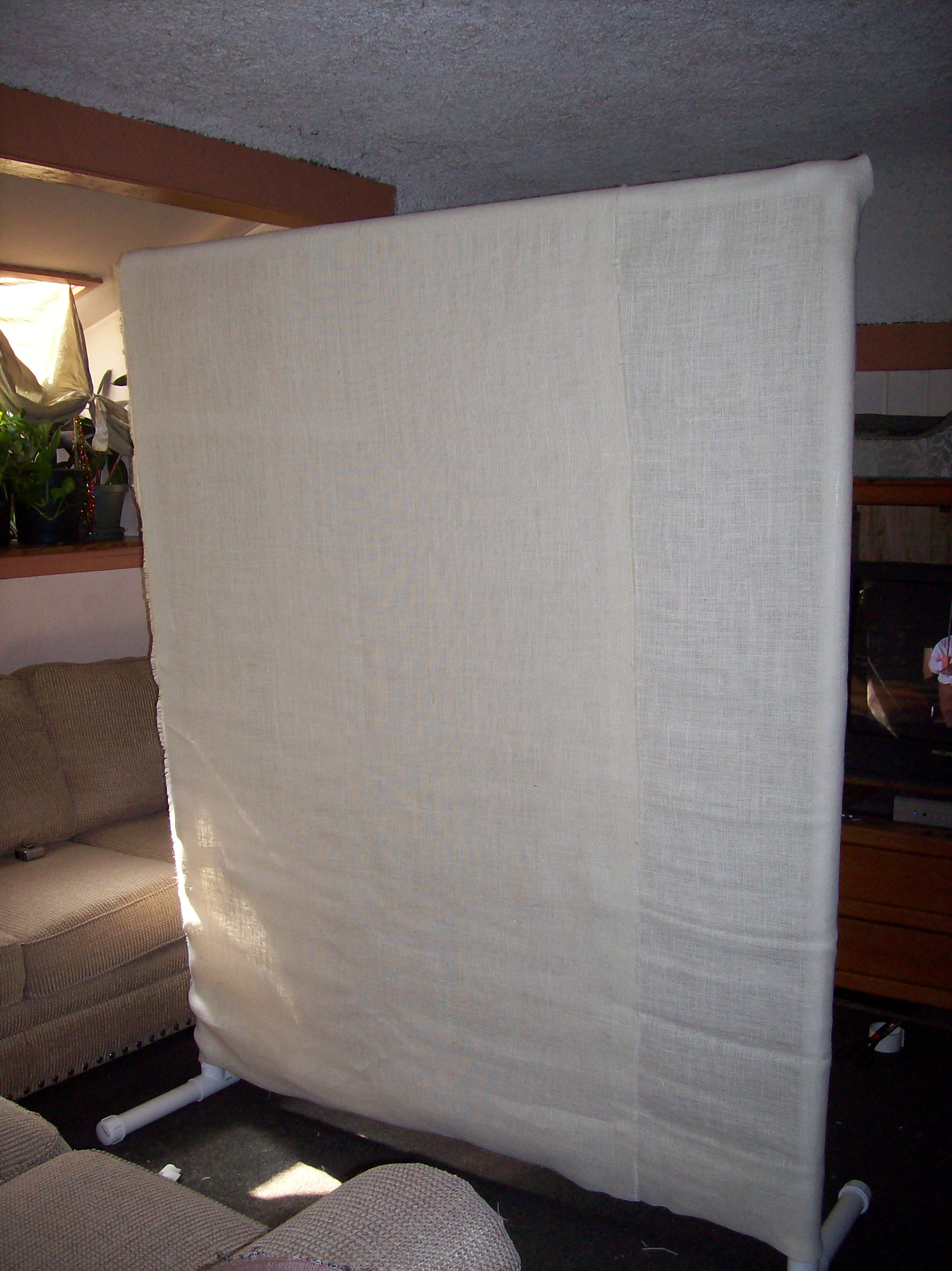 pvc room divider cheap and easy 7