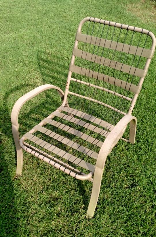 paracord patio chair repair 6 steps