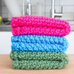 Easy Knit Dishcloth Washcloth 3 Steps With Pictures Instructables