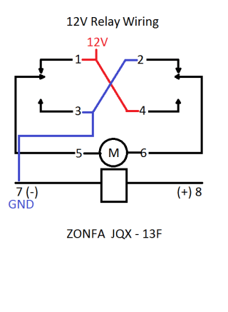 rocker switch and joystick wiring w/ linear actuators  4