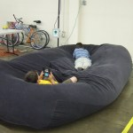 Bean Bag Sofa Bed 8 Steps With Pictures Instructables
