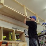 Wasted Space High Garage Storage Shelves 8 Steps With Pictures Instructables