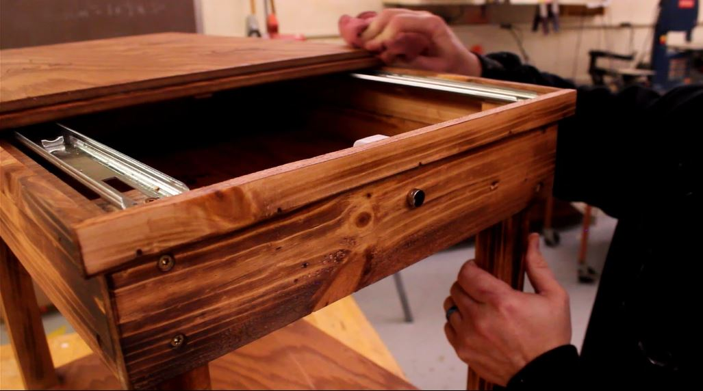 how to make a hidden coffee table 6
