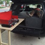 Toyota 4runner Camper Sleeper Conversion With Table 4 Steps Instructables