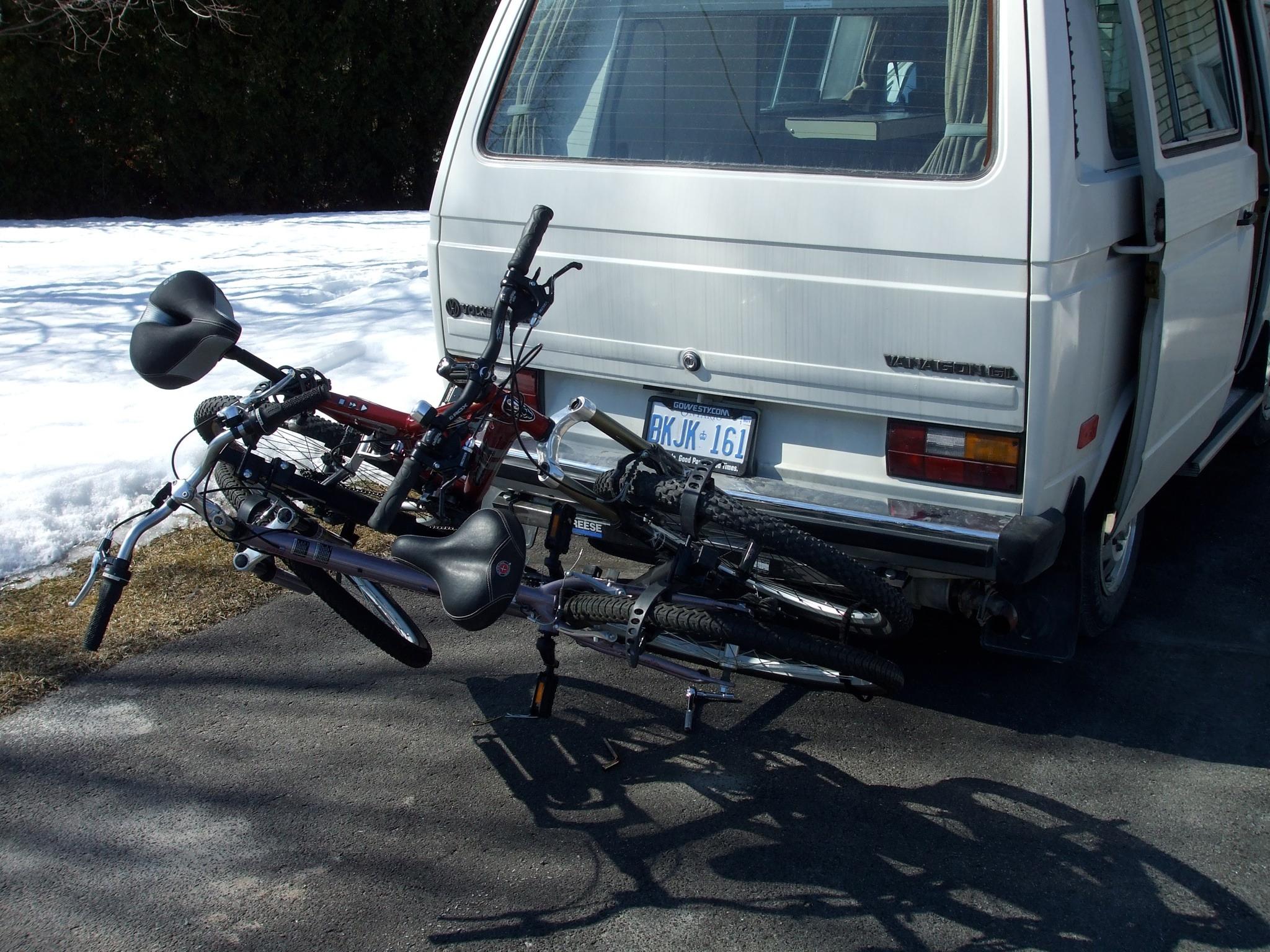 bike rack tilt hack 6 steps