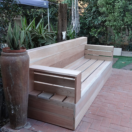 make your own wood patio furniture 5