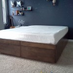 Platform Bed With Drawers 8 Steps With Pictures Instructables