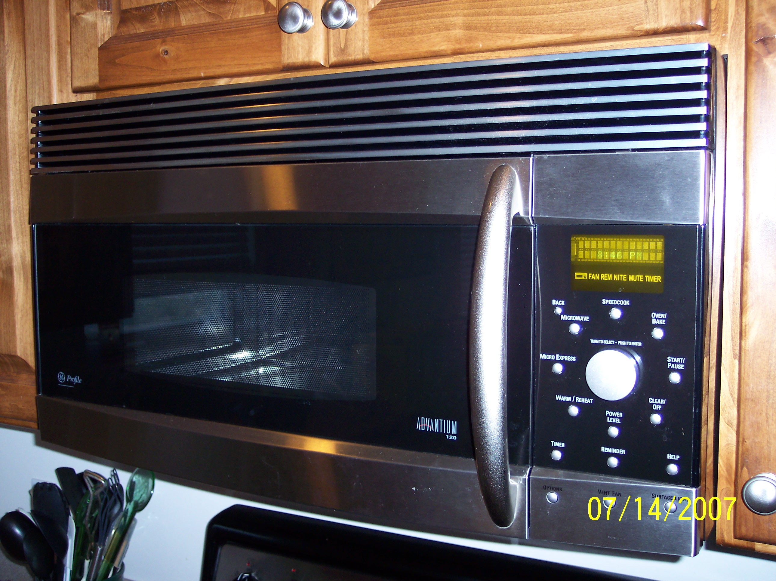 ge advantium microwave halogen