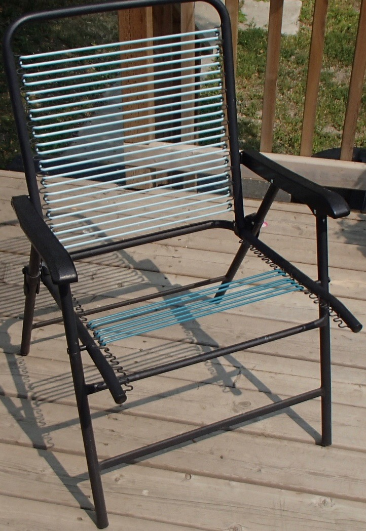 easy lawn chair webbing repair with