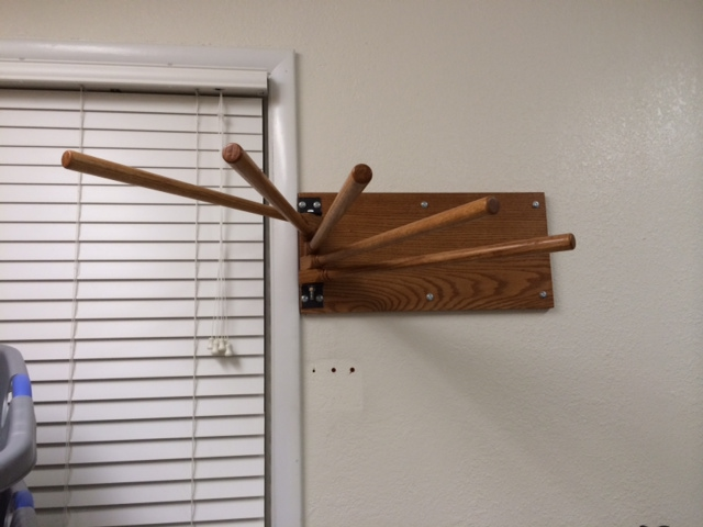 clothes drying rack old fashion