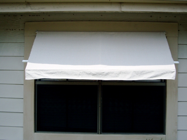 diy awning 6 steps instructables