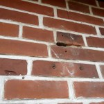 How To Fix Holes In A Brick Wall Cheap And Easy 4 Steps With Pictures Instructables