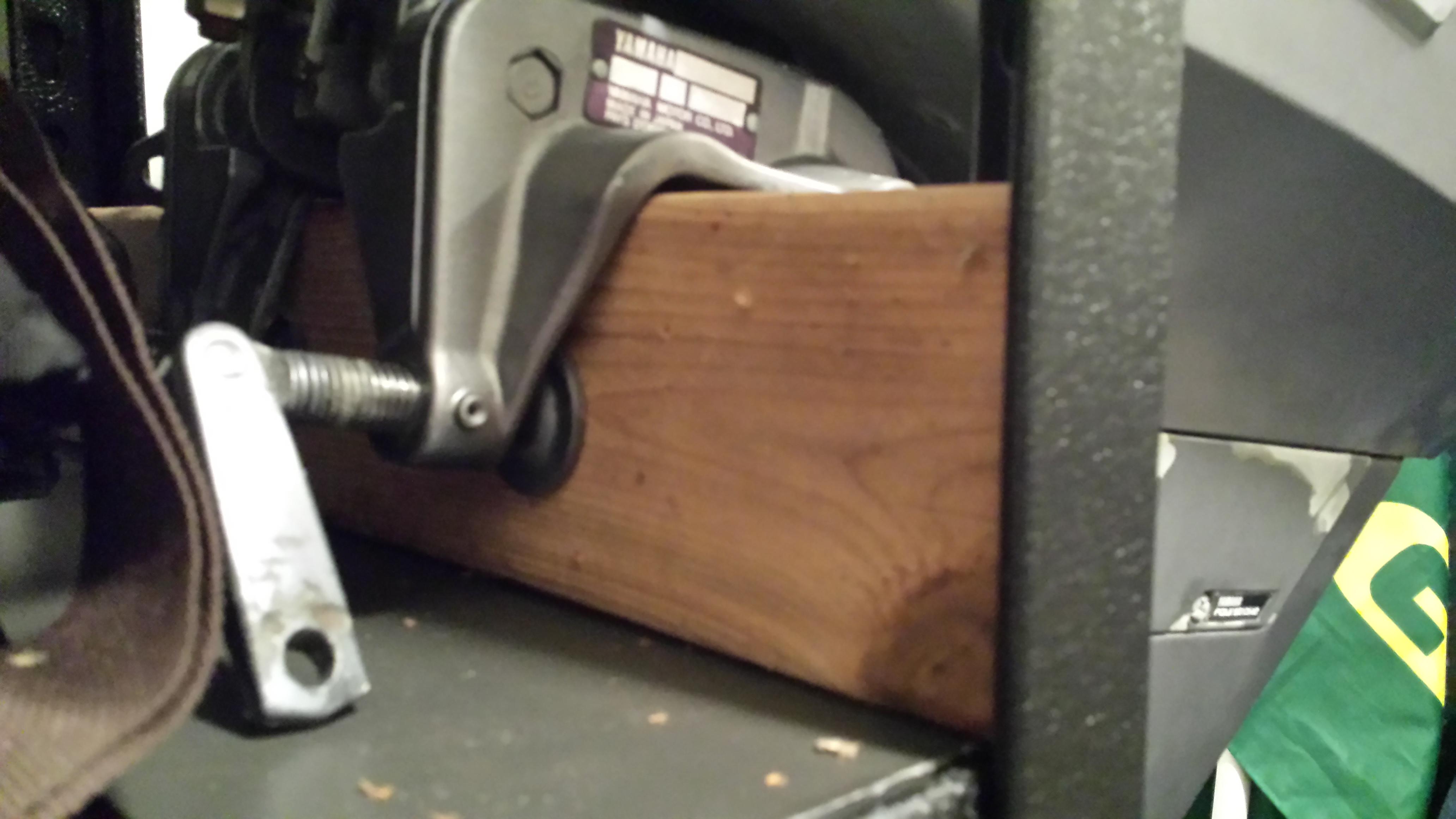 keep it simple outboard motor rack 4