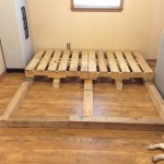 King Size Pallet Bed Project 6 Steps With Pictures Instructables
